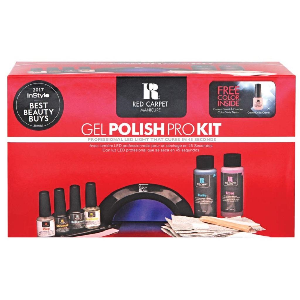 Red Carpet Essential Gel Nail Kit